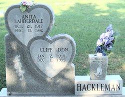 Anita <I>Lauderdale</I> Hackleman