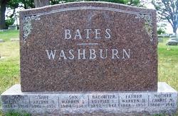 Arlene <I>Bates</I> Washburn
