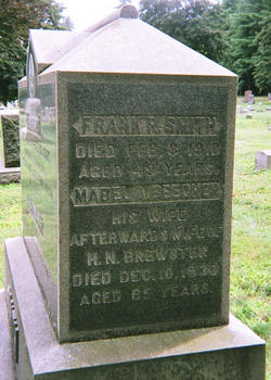 Mabel Abby <I>Beecher</I> Brewster