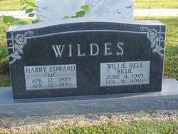 """Harry Edward """"Ed"""" Wildes"""