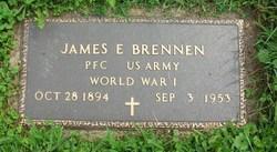 James E Brennen