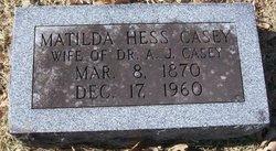 Matilda Hess Casey