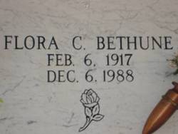 Flora <I>Cochran</I> Bethune