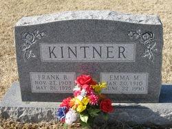 Emma M <I>Conway</I> Kintner