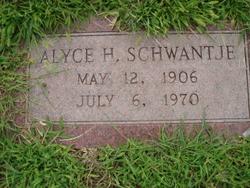 Alyce H. Schwantje