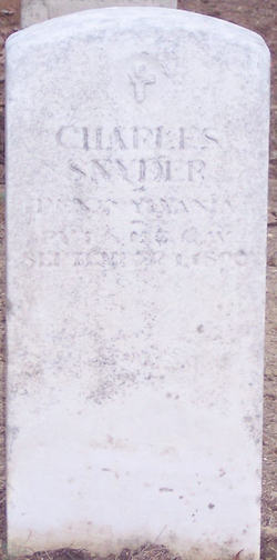 PVT Charles Snyder