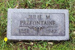 Marie Julie Simonine <I>Simonen</I> Prefontaine