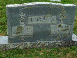 "Gertrude D ""Gertie"" <I>Ward</I> Love"