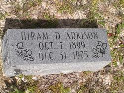Hiram Dee <I>Monroe</I> Adkison