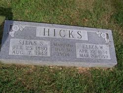 Eliza W <I>Shollenbarger</I> Hicks
