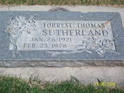 Forrest Thomas Sutherland