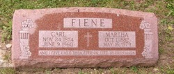 Carl W Fiene