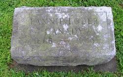 """Frances H. """"Fannie"""" <I>Loder</I> Canady"""