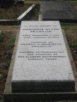 Marjorie Ellen Franklin