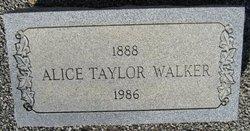 Alice Marian <I>Taylor</I> Walker
