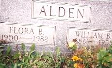 Flora Bell <I>Mays</I> Alden