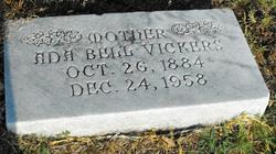 Ada Bell Vickers