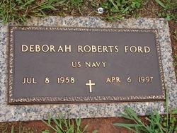 Deborah <I>Roberts</I> Ford