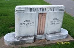 Cora Jane <I>Blackburn</I> Boatright