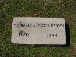 Margaret <I>Jemison</I> Brown