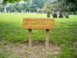New West Stafford Cemetery
