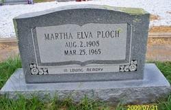 Martha Elva <I>Shaw</I> Ploch