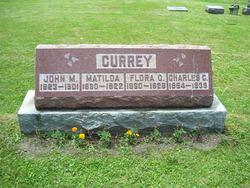 John M Currey