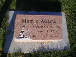 "Mary Phoebe ""Mamie"" <I>Pierce</I> Adams"
