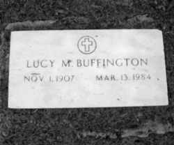 Lucy Isobel <I>Mickle</I> Buffington