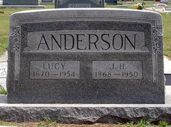 Lucy Irene <I>Price</I> Anderson