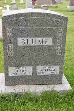 Clara <I>Landmeier</I> Blume