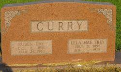 Lela Mae <I>Frey</I> Curry