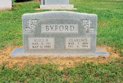 Alice R Byford