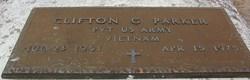 Pvt Clifton G Parker