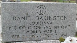 PFC Daniel Bakington