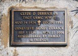 Clyde D Derrick, Jr