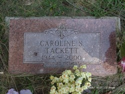 Caroline S. <I>Comer</I> Tackett