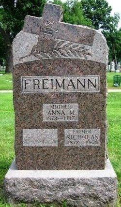 Anna Marie <I>Kirchen</I> Freimann
