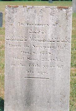 Capt James Wheaton Brayton