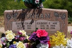 Edith <I>Cram</I> Bonham