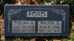 Thelma <I>Brown</I> Ford