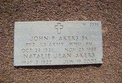 PVT John Paul Akers, Sr