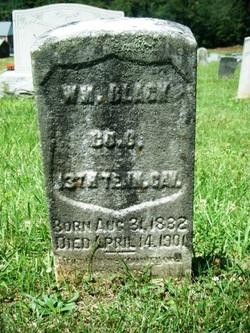 Pvt William M Black