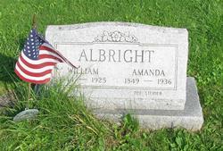 Amanda <I>Steiner</I> Albright