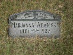 "Marjanna ""Maryanna"" <I>Lubouski</I> Adamski"