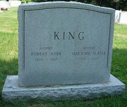 Marjorie <I>Slater</I> King