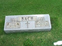 Beatrice M <I>Schwietzer</I> Bach