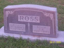 "Sarah Alexander ""Alex"" <I>Stewart</I> Ross"