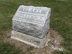 "Mary Matilda ""May"" <I>Bitler</I> Blake"