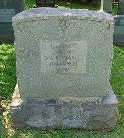 Clara V. <I>Mahone</I> Rudasill